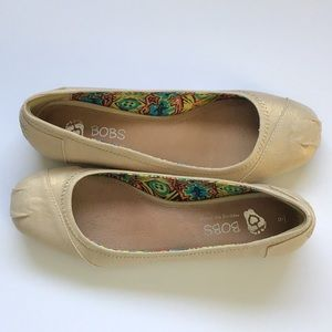 Bobs from Sketchers Ballet flats Neutral size 9